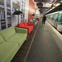 IKEA a Párizsi metróban (2010)