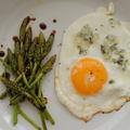 Trükkös tojás, balzsamos vadspárga