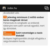 Örömhír: Holnaptól Te is fizethetsz szingliadót! Írásom az @index.hu címlapján is megtalálható! #szingliadó #index #blog