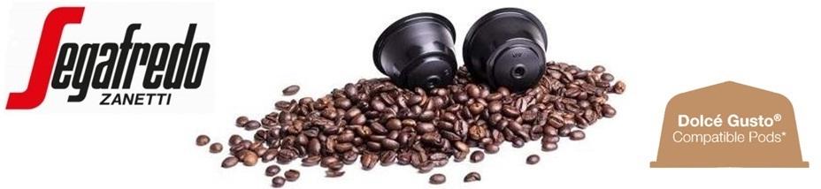 SEGAFREDO Mio Dolce Gusto kompatibilis Espresso Cremoso