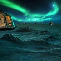 A világ legészakibb szállodája nyílik meg az északi sarkon