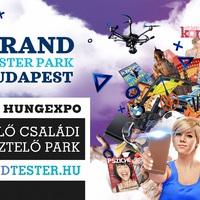 Március 11-én vár az ország márkatesztelő élményparkja!