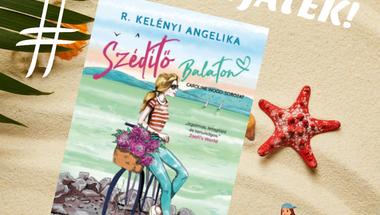 Megjelent R. Kelényi Angelika legújabb könyve a Szédítő Balaton