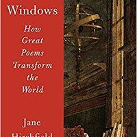 ??FB2?? Ten Windows: How Great Poems Transform The World. Supplier flower latest leggings instead