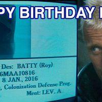 Roy születésnapja