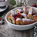 Croissant kenyérpuding