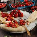 Koktélparadicsom 3-szor: a salsa, a konfitált és a sült kolbászos