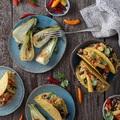 Vegetáriánus taco