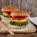 Portobello duplasajtburger