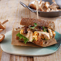 Shiitake gombás szendvics chipotle majonézzel