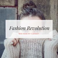 Ma van a Fashion Revolution világnapja!
