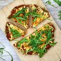 Az igazi tömegnövelő gyorskaja - Protein pizza darált hús alappal