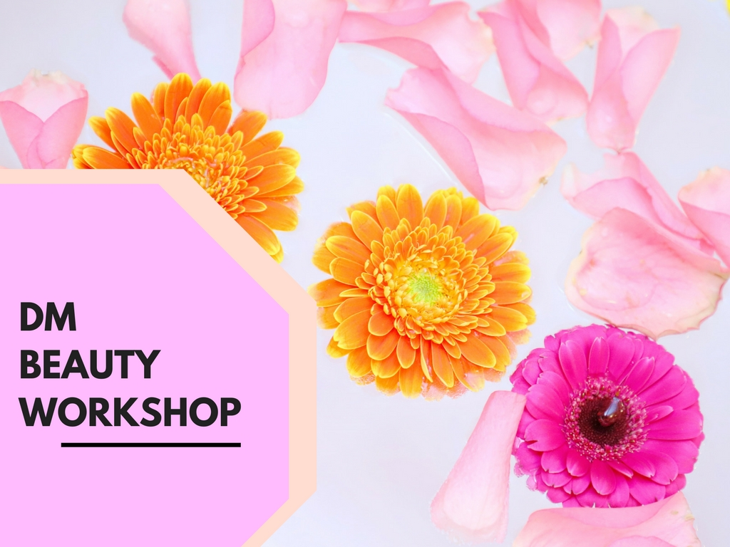 DM Beauty Workshop a Writer's Villában!