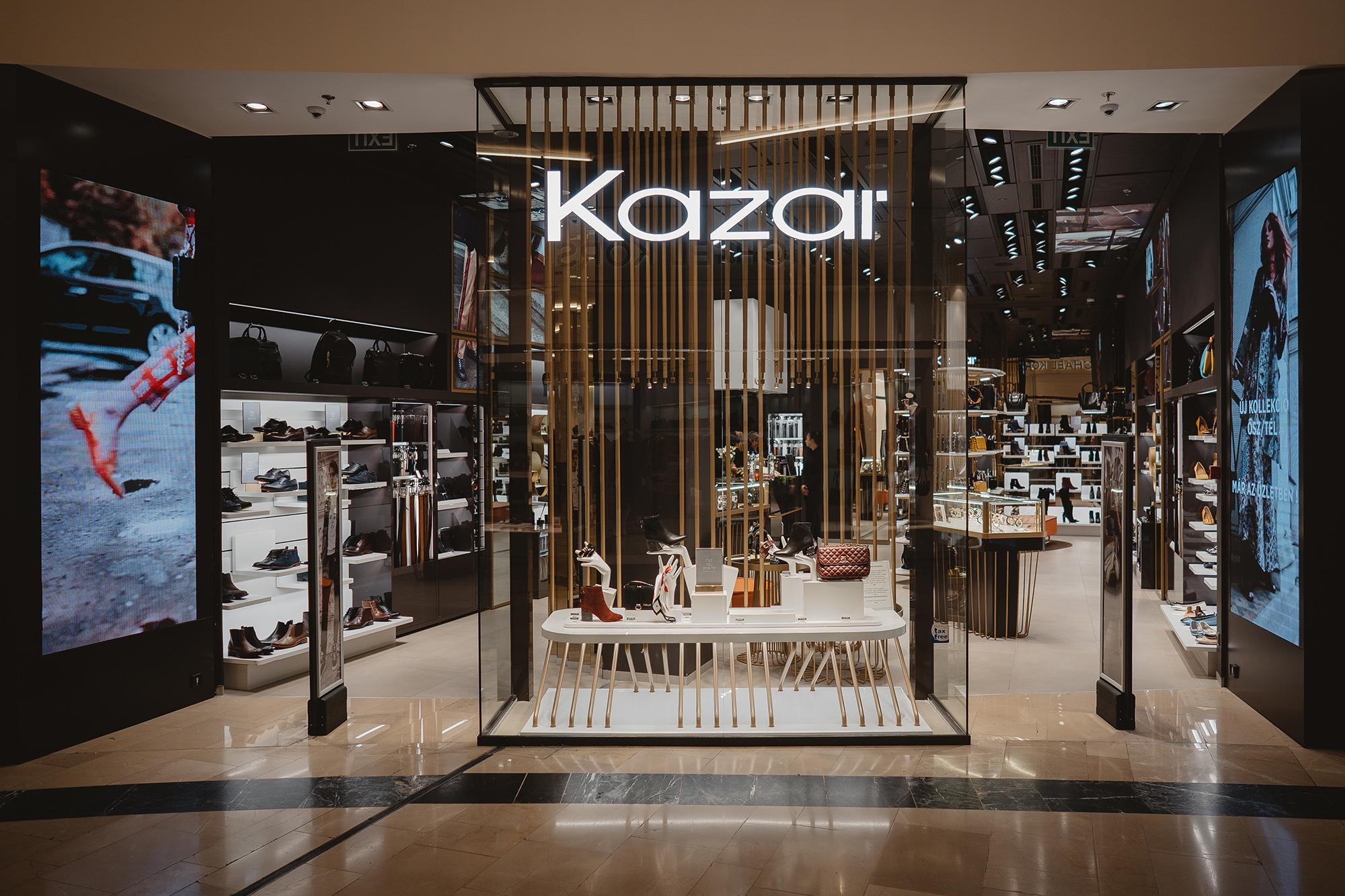 Letisztult formavilág, izgalmas anyagok és rátétek jellemzik a Kazar új kollekcióját!