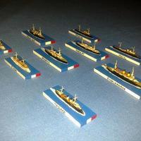 A WTJ 1/3000 hajói