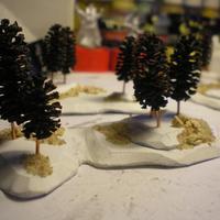 Erdő készítése -6mm