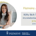 Pázmány Alumni: interjú Kitty Bich Thuy Tával, a BTK egykori hallgatójával