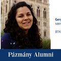 Pázmány Alumni: interjú Gergely-Baka Ildikóval, a BTK egykori hallgatójával