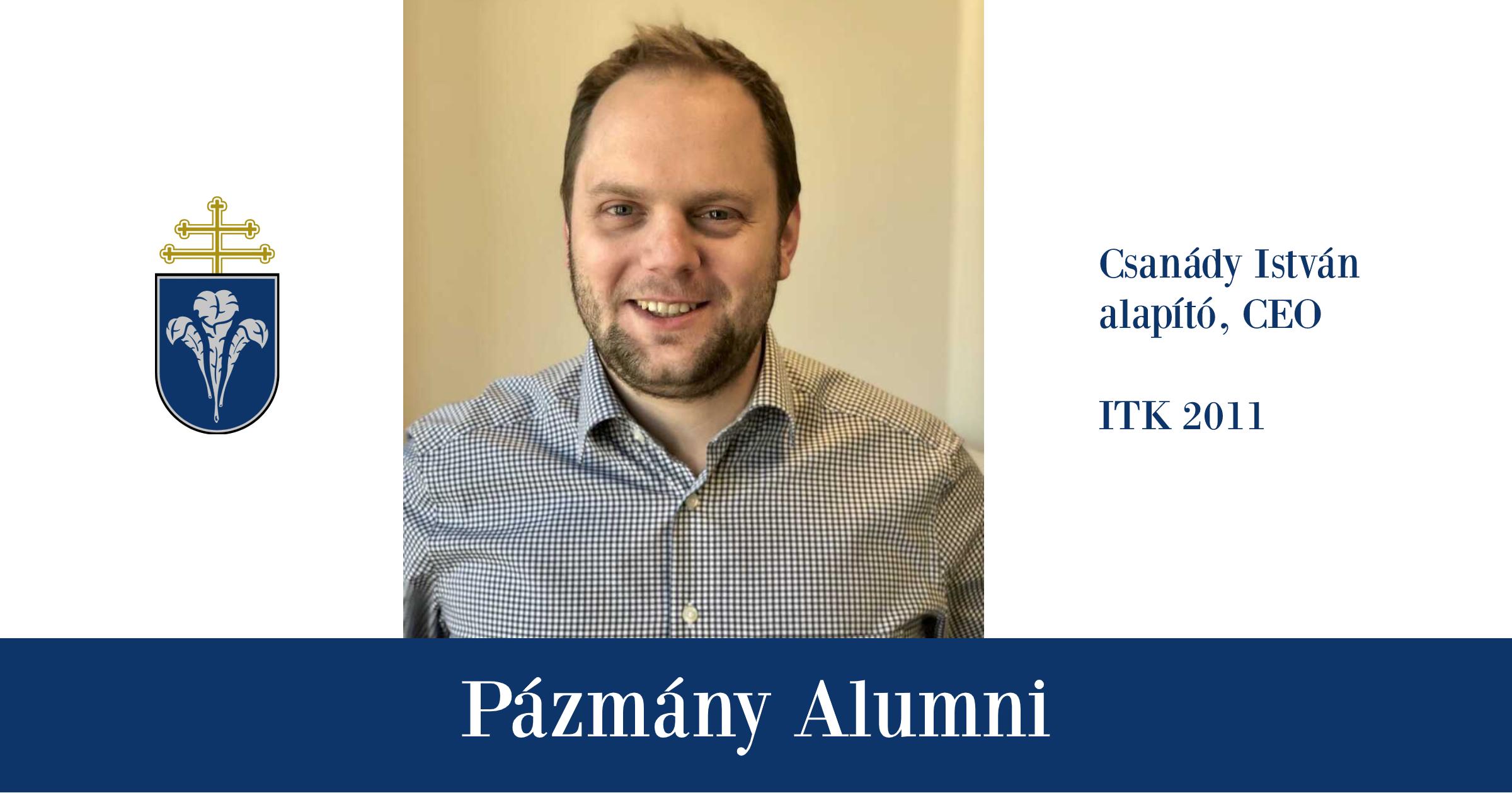 Pázmány Alumni: interjú Csanády Istvánnal, az ITK egykori hallgatójával