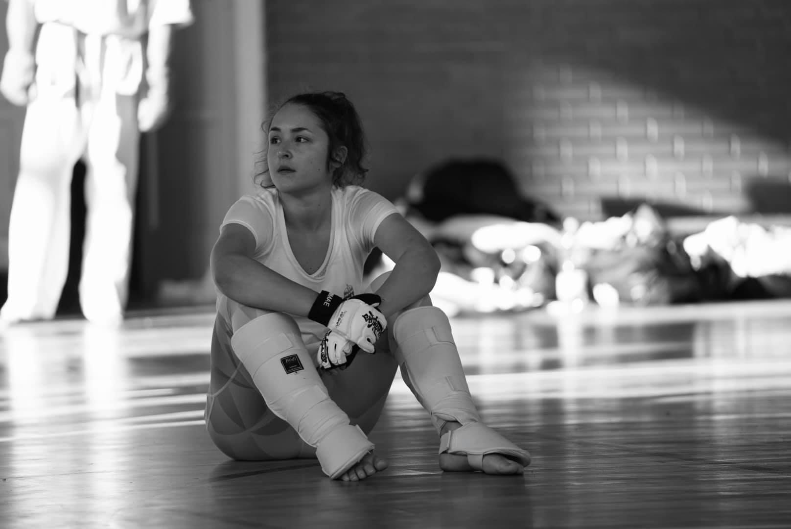 Büszkeségeink: Dévényi Vanda kyokushin karatézó, az ITK hallgatója