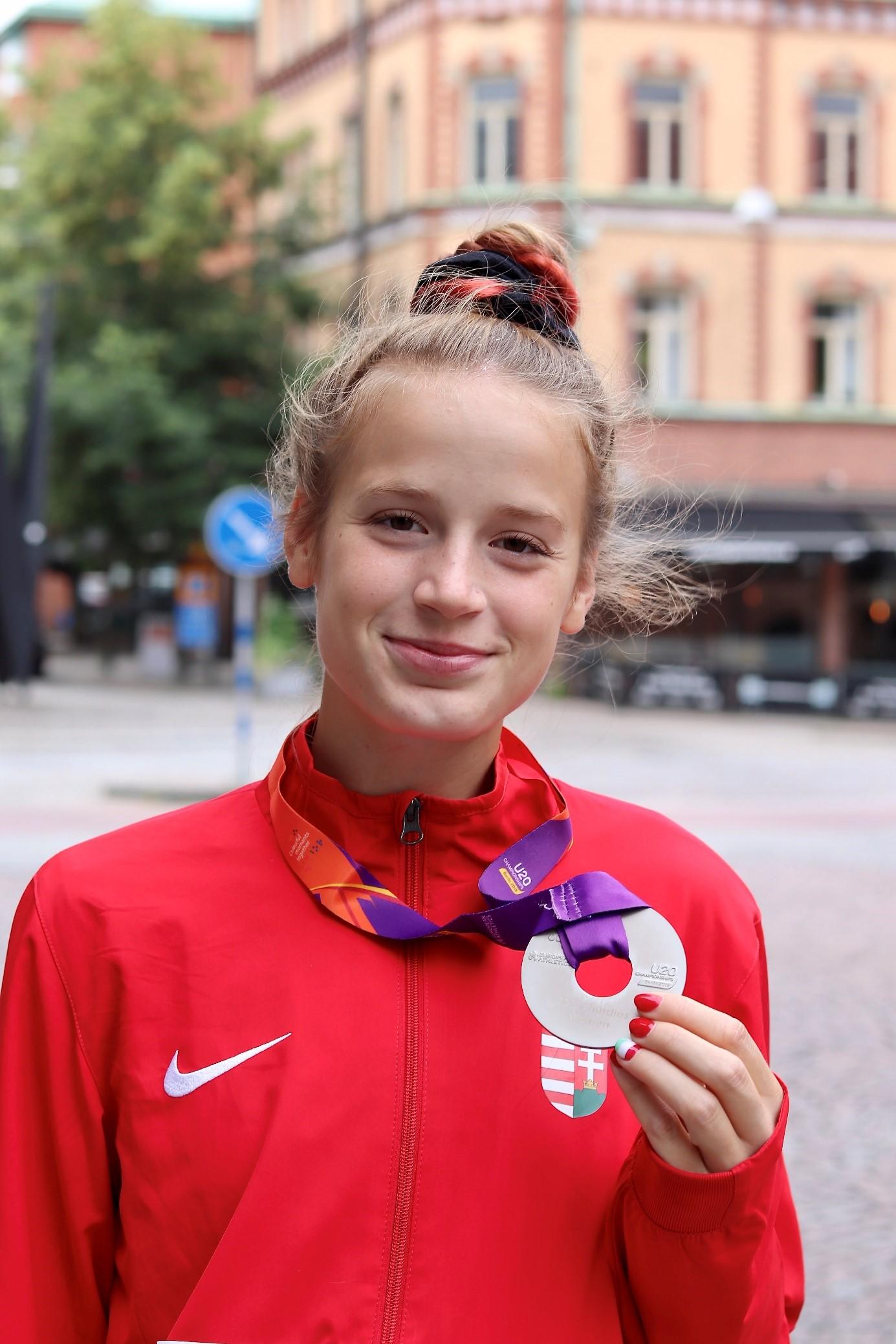 Büszkeségeink: Mátó Sára atléta, a BTK hallgatója