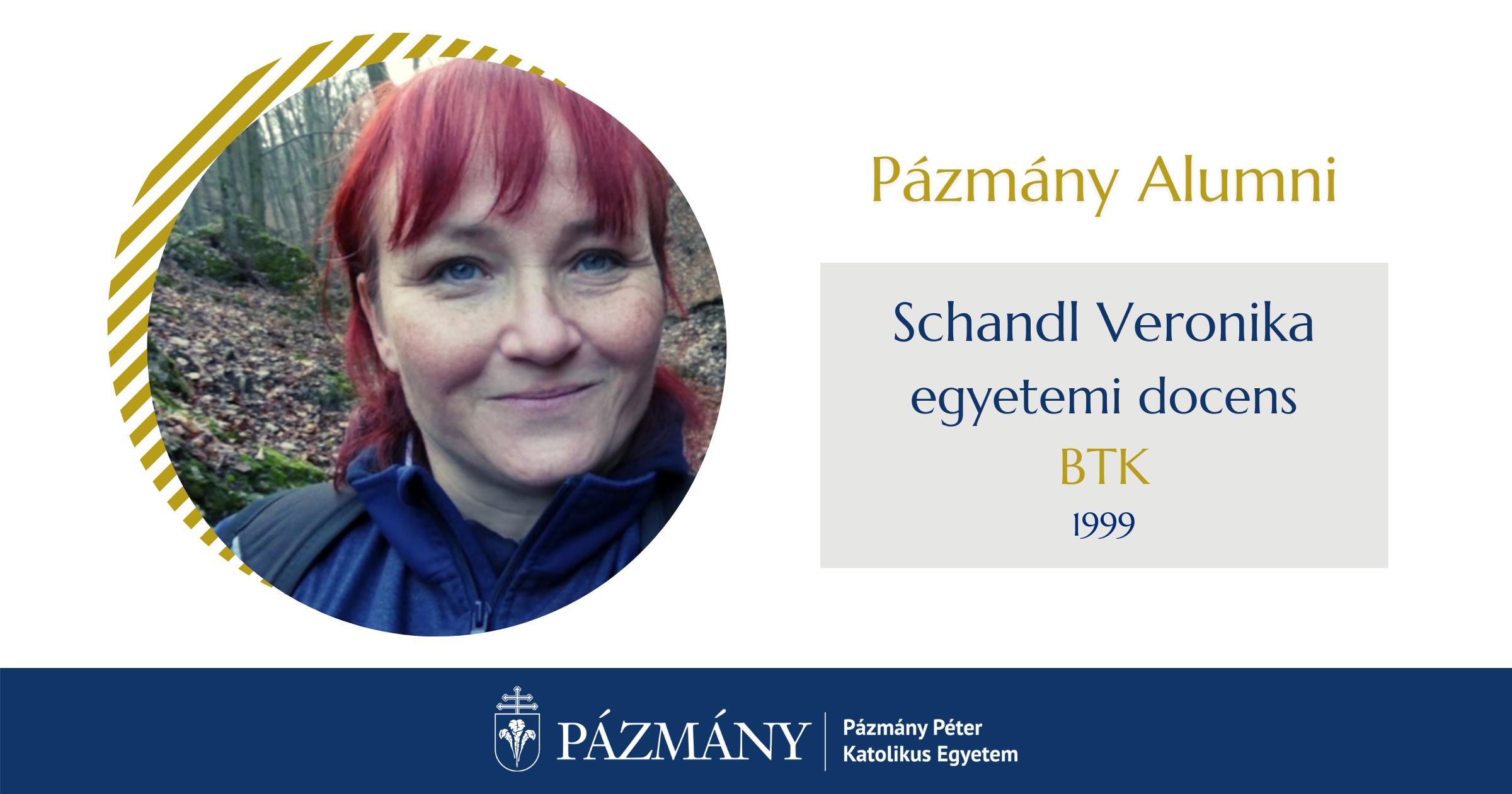 Pázmány Alumni: interjú Schandl Veronikával, a BTK egykori hallgatójával