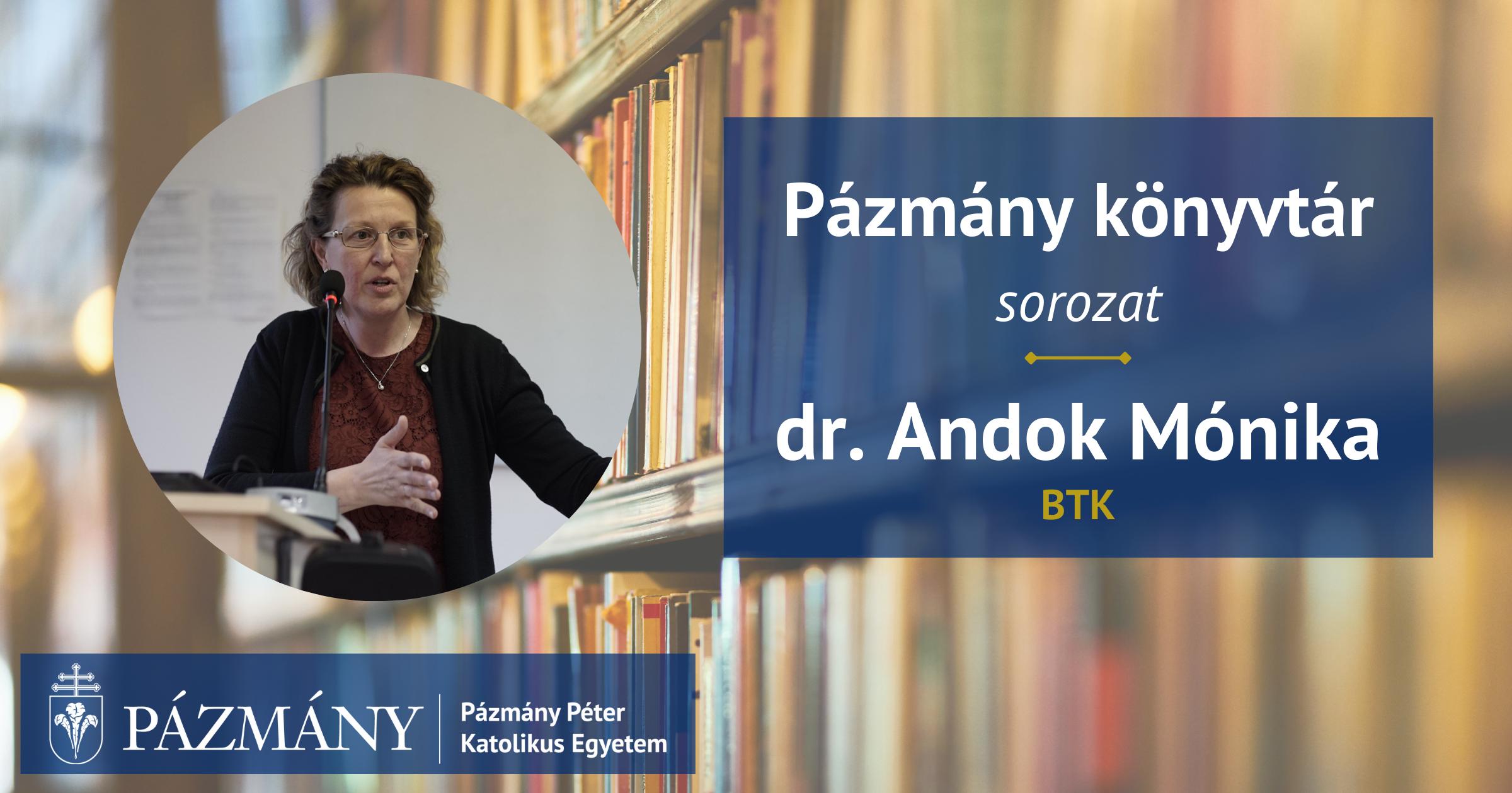 Pázmány könyvtár: interjú dr. Andok Mónikával