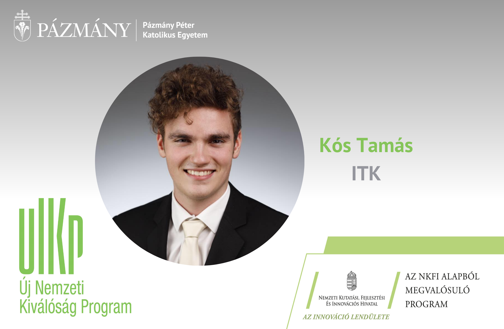 Fiatal kutatók: beszélgetés Kós Tamással