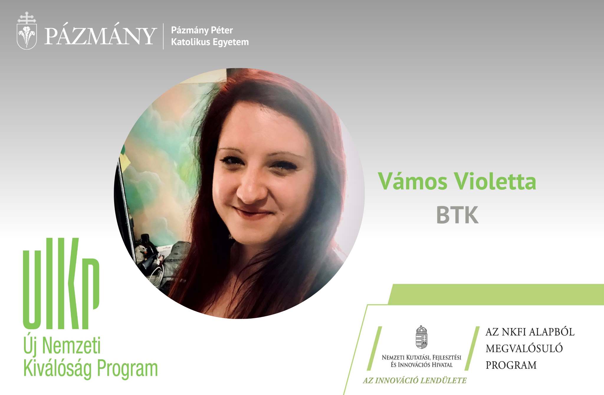 Fiatal kutatók: beszélgetés Vámos Violettával