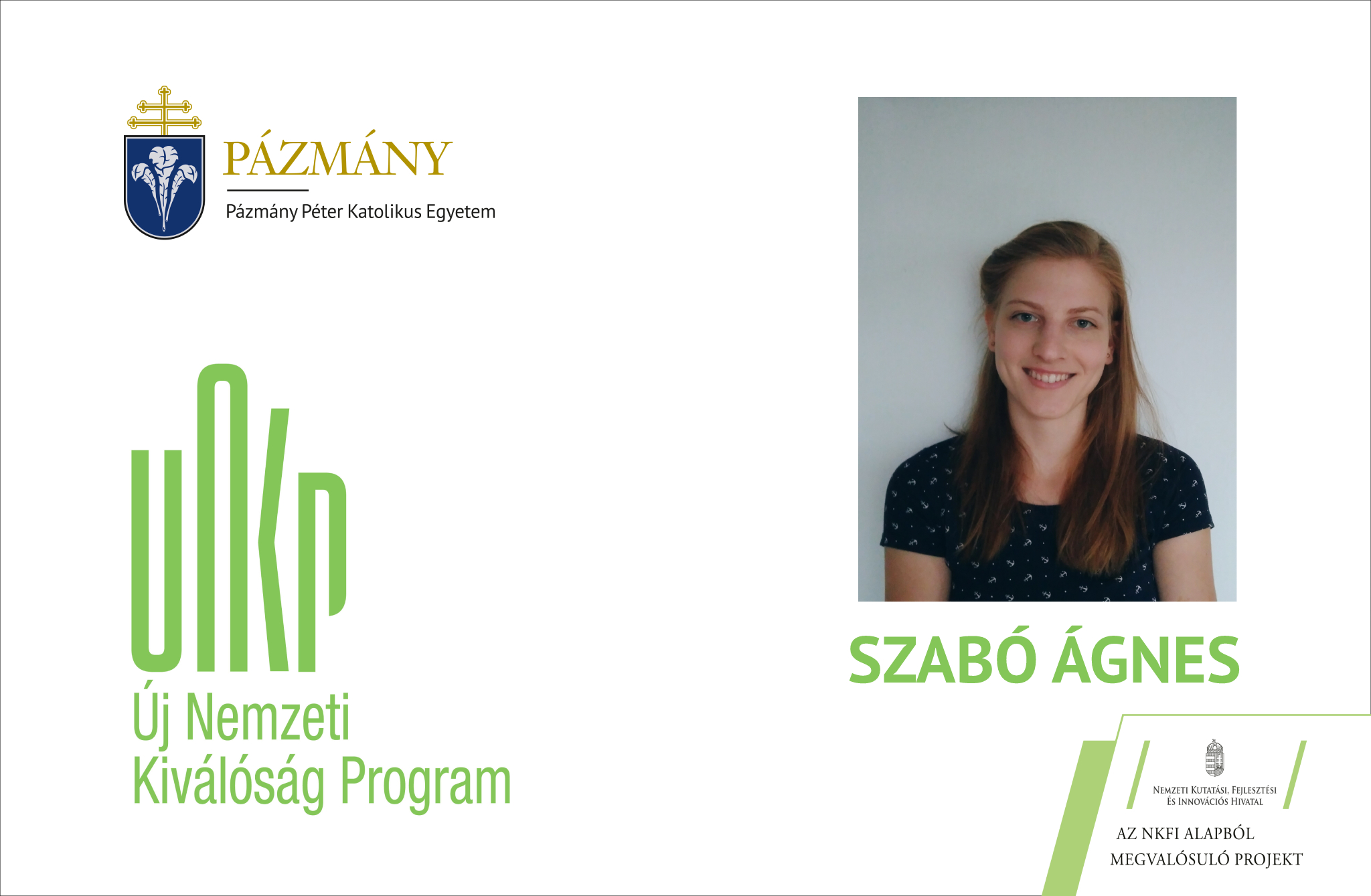 Fiatal kutatók: beszélgetés Szabó Ágnessel