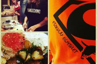 Felejthetetlen élmény volt tegnap az Eszkuláp Állatvédő Egyesület jótékonysági vegán vacsora estje Steiner Kristóffal :) #vegan  #steinerkristof  #eszkulapallatvedoegyesulet