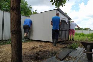 A tiszarádi mentőállomás felújítása