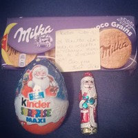 #Mikulás #gift #Chocolate #goodgirl #peacelove