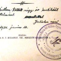 Radnóti Miklósné Gyarmati Fanni pécsi megmentője: Báró Mirbach Júlia