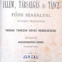 Herczenberg József táncművész intelmei