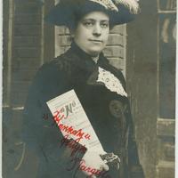 Glücklich Vilma előadása a nőkérdésről Pécsett (1918)