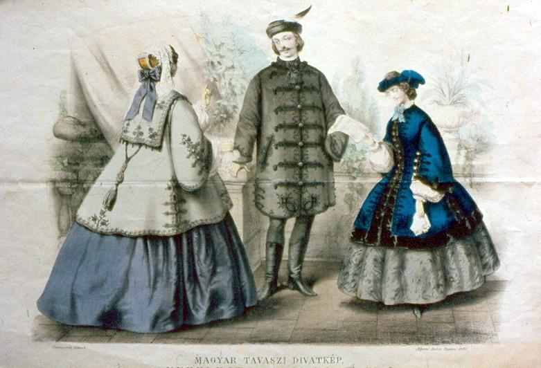6040dc4830 Jámbor Irma kampánya a magyaros ruhák mellett (1860) - Elfeledett pécsi nők  nyomában.
