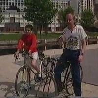Kerékpáros helyzetkép Pécsről - 1988. május