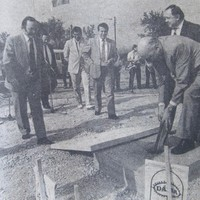 A FEMA bevásárlóközpont építése és átadása - 1988-1991