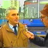 Megjelentek az első reklámok a pécsi autóbuszokon - 1987. november