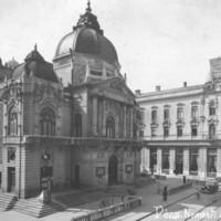Folyik a Pécsi Nemzeti Színház általános rekonstrukciója - 1989. május