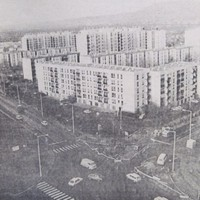 Új forgalomirányító berendezés, átépített kereszteződés az Egri Gyula úton - 1988. június