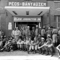 Húszórás figyelmeztető sztrájk Pécs-Bányaüzemben - 1988. augusztus