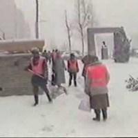 Hóhelyzet Kertvárosban - 1986. február