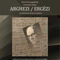 Ferenczes István: Arghezi ← Ergézi