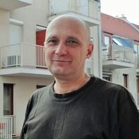 2014 április. Daniel Bănulescu (ROM): Pécsi beszélgetés