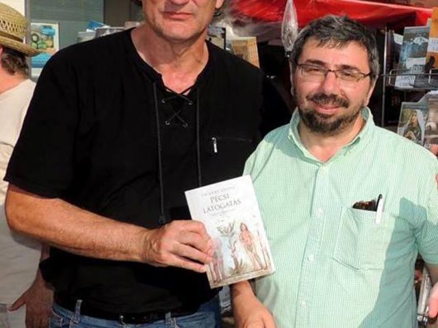 2013 február/március. Thierry Loisel (FRA): Pécsi látogatás