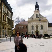 2013 április. Dragana Kršenković Brković (MNE): Április Pécsett