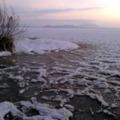 Tél van tél - ma kora reggel Balatongyörökön...