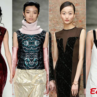 Kínai szupermodellek a New York Fashion Weeken